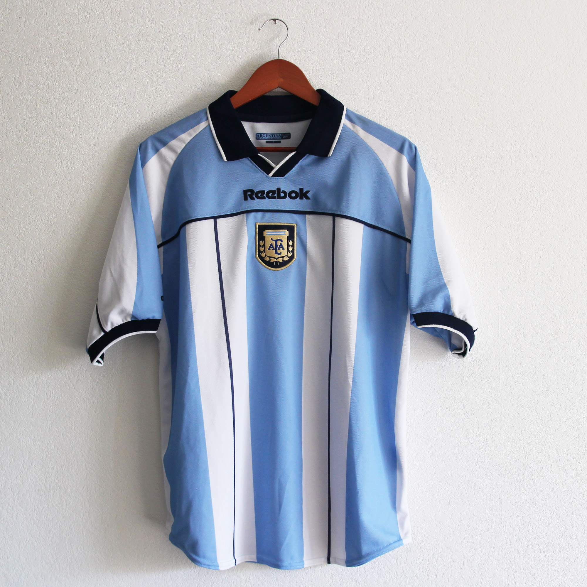 maillot reebok argentine 2000 2001