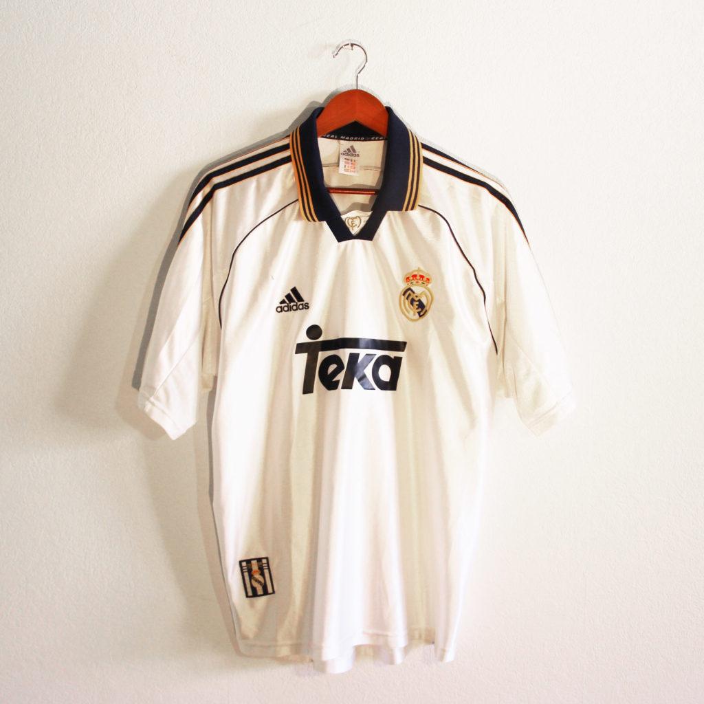 maillot real madrid teka 1998 1999 2000