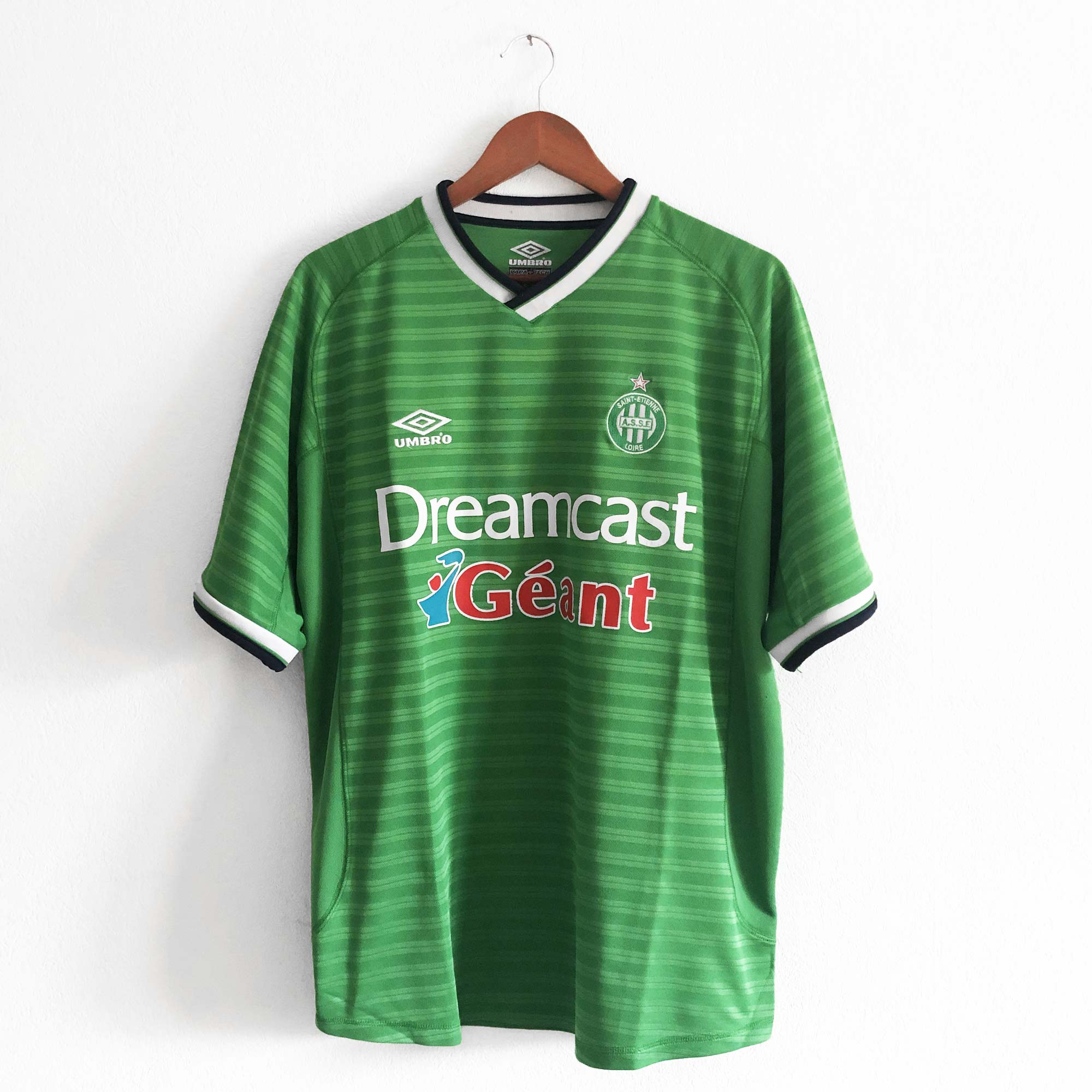 maillot asse dreamcast umbro 2000 2001