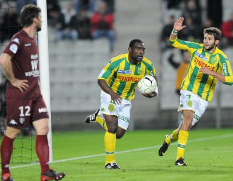 Jean-Claude Darcheville buteur au cours de la saison 2009-2010