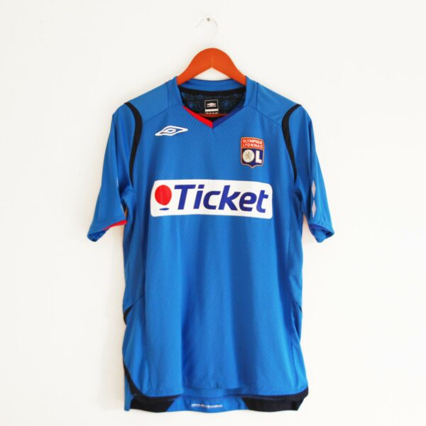 maillot lyon ticket umbro bleu