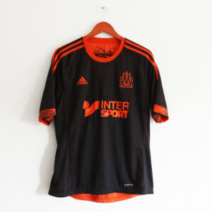 maillot om réversible noir orange